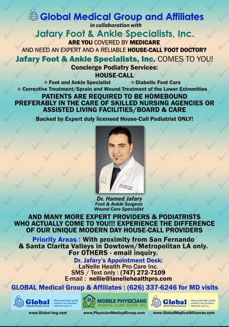 Global IMG Foot doctor
